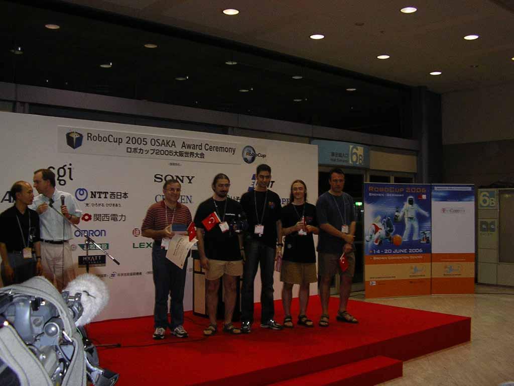 RoboCup 2005 Ödül Töreni